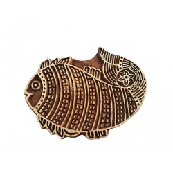 Fish Printing Wooden Block (WB60)