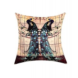 Peacock Digital Print Cushion Cover (CCNG-17)