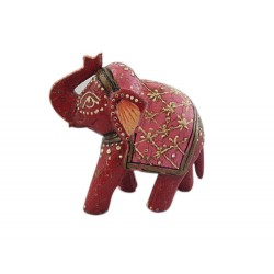 Red Elephant with Pink (FGE12)