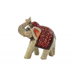 White Elephant with Red (FGE14)