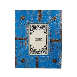 Distress Blue Photo Frame (PFD46-4)