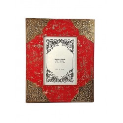 Distress Red Photo Frame (PFC57-86)