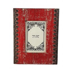 Distress Red Photo Frame (PFD46-2)