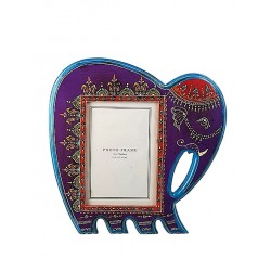 Purple coloured Elephant Photo Frame (PFC57-113)