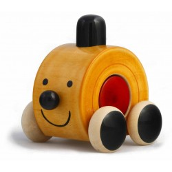 Moee Red Wooden Car (WTMR-1)